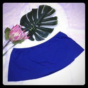Gibson Latimer Blue Swim Bottom Skirtini Size L